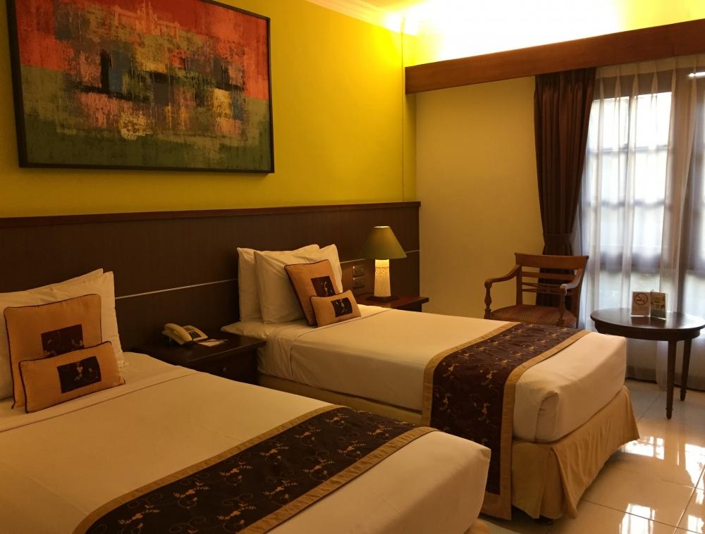バリらしい雰囲気の自然溢れるホテル